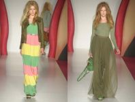 Maxi (duge)  haljine za proleće 2012. godine - slika 5