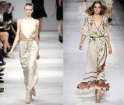 Maxi (duge)  haljine za proleće 2012. godine - slika 8
