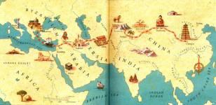 Put svile - mapa