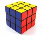 Rešena Rubikova kocka