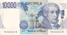 Alesandro Volta - 10000 lira