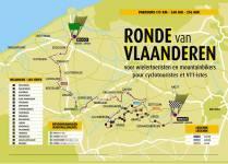 Трка криз Фландрију 2007 - мапа
