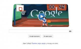 Google homepage posvetio košarci
