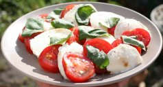 Paradajz salata sa mocarelom