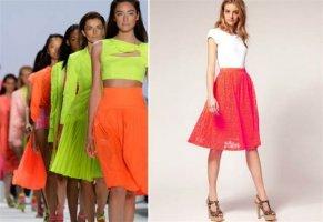 Suknje sa modnih pista