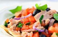 Letnja salata sa tunjevinom