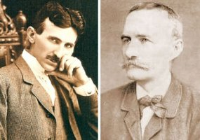 Pozdrav Nikoli Tesli pri dolasku mu u Beograd 1892. godine - Jovan Jovanović Zmaj
