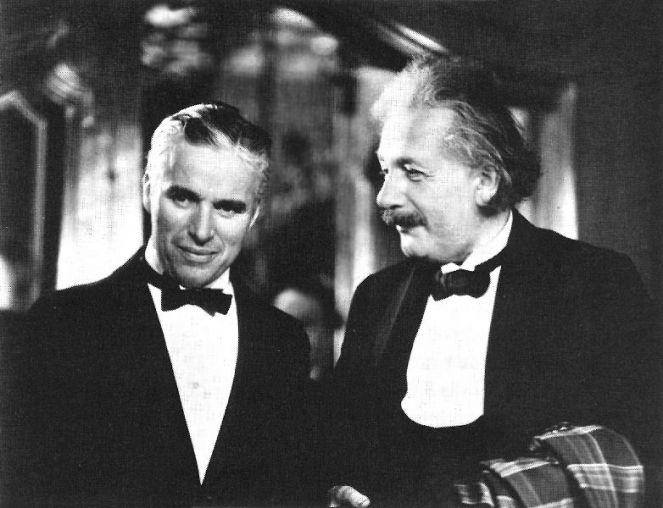 Albert Ajnštajn i Čarli Čaplin