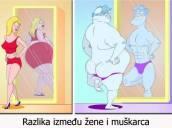 Razlika između žene i muškarca