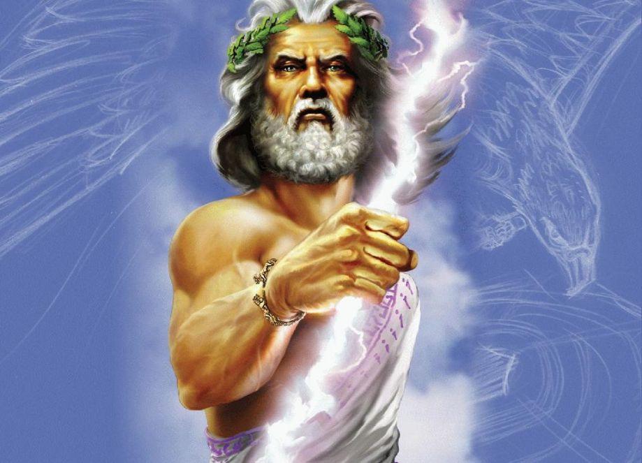 Vrhovni bog starih Grka - Zevs
