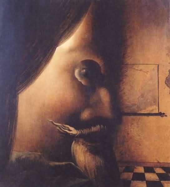 Koga vidite na slici: ženu ili muškarca?