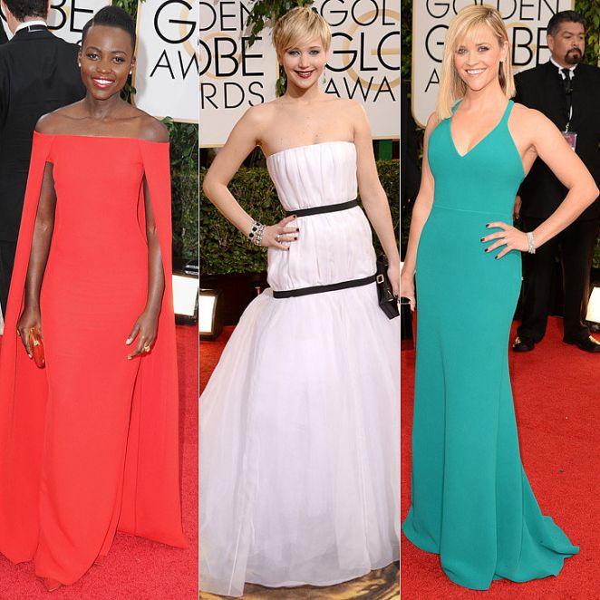 Zlatni globus 2014. godine - crveni tepih (najlepše haljine)