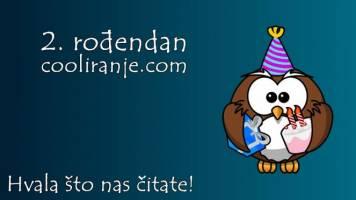 2. rođendan cooliranje.com - Hvala što nas čitate!