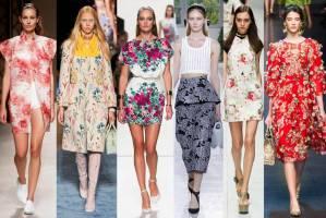 Cvetni print - trend za proleće/leto 2014.