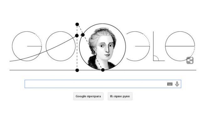 Марија Гаетана Ањези - 296. rođendan Marija Gaetana Anjezi