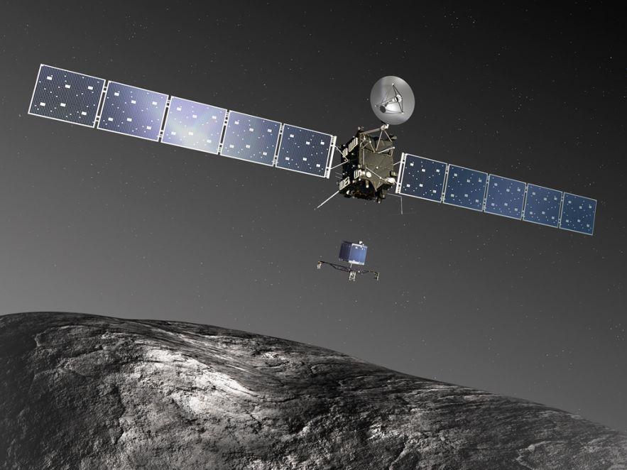 Philae spacecraft (Robot File) - Prvo kontrolisano sletanje na jezgro komete
