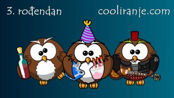 3. rođendan cooliranje.com - Hvala što nas čitate!