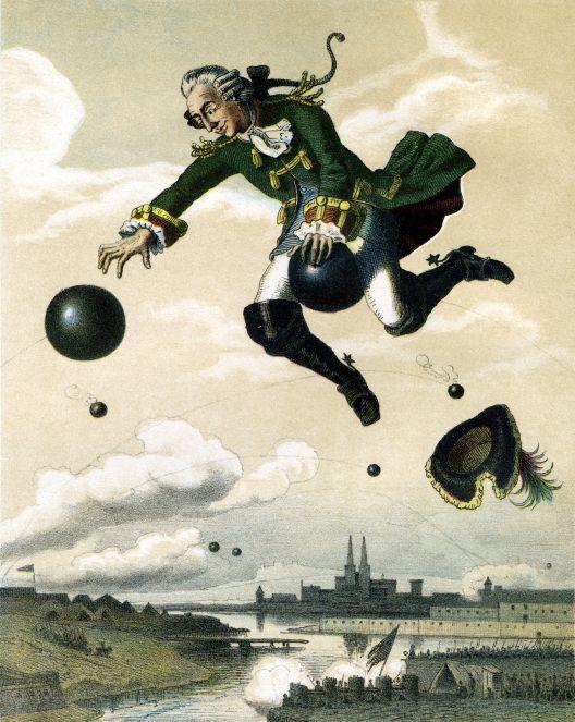 "Baron Karl Fridrih Hijeronim Minhauzen i ""baronisanje"""