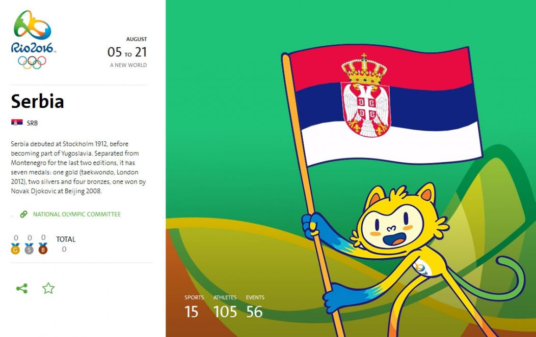 Počele su Olimpijske igre - Rio 2016