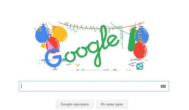 Google slavi 18. rođendan!
